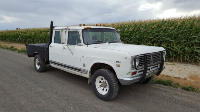 1972 International Pickup 1210 4x4 Crew Cab For Sale Photos