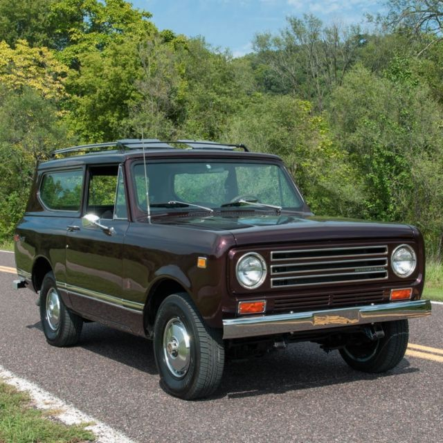 1972 International Harvester Scout Scout II