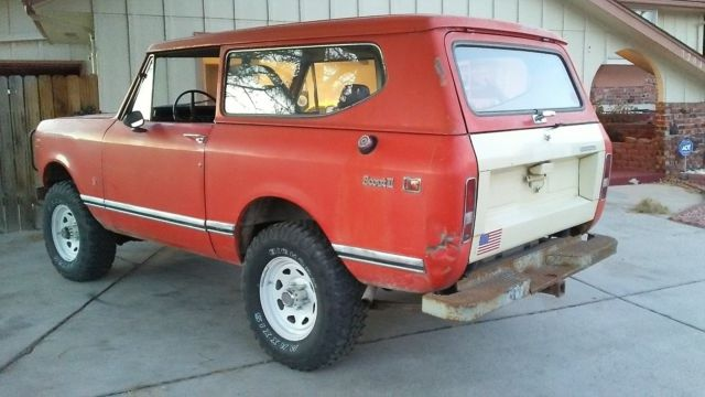 1972 International Harvester Scout Scout 2 SUV