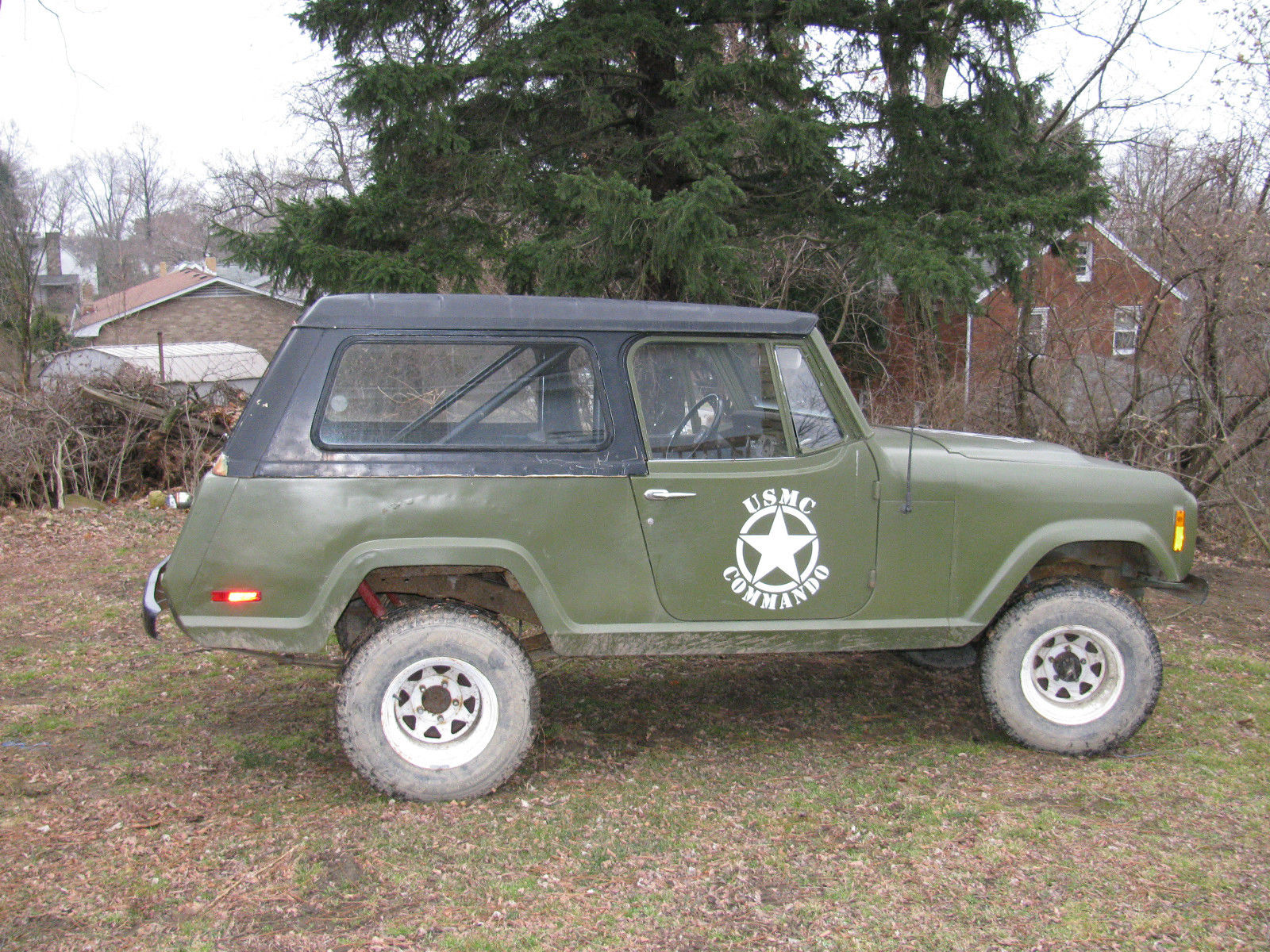 1972 Jeep Commando hard top
