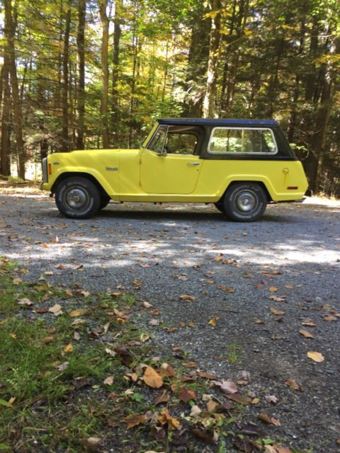 1972 Jeep Commando convertible