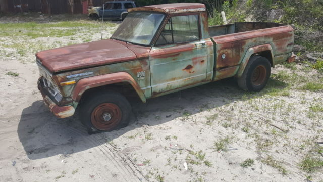 1972 Jeep Gladiator 4x4 V8 For Sale Photos Technical