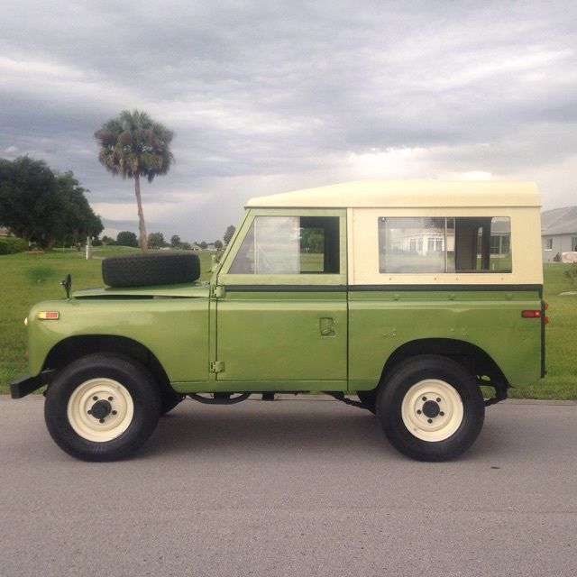 "Used Land Rovers For Sale: 1972 Land Rover Pre-Defender Series III 88"" 4x4 LHD 2.25L"