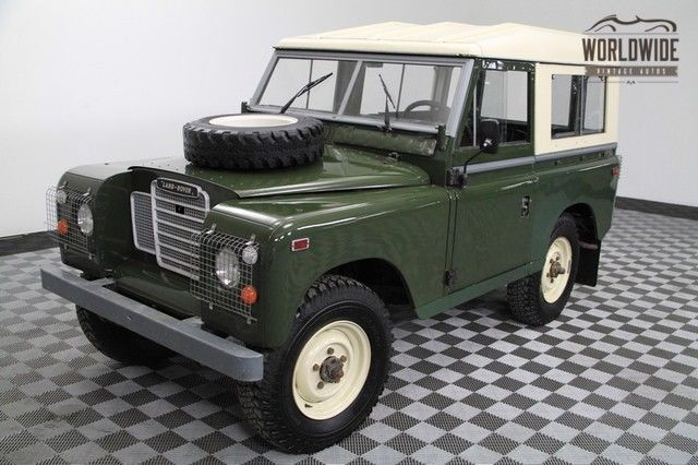 "1972 Land Rover Other SERIES III 88"" Frame off Restored. Rare!"