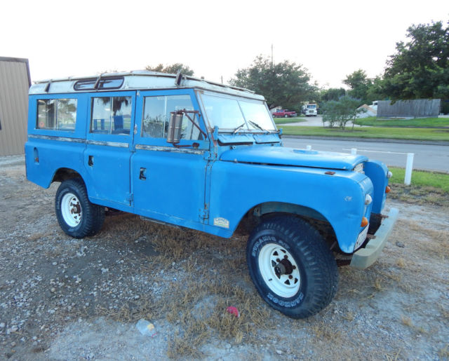 1972 Land Rover Other 109 PATROL SERIES III