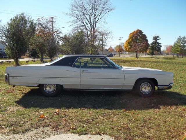 1972 LINCOLN CONTINENTAL V8 460 2 DOOR GREAT DRIVER for sale