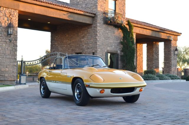 1972 Lotus Other Elan Sprint
