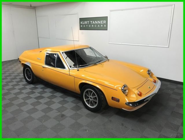 1972 Lotus Europa Twin Cam Big Valve