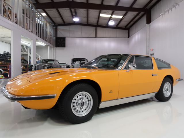 1972 Maserati Coupe Indy 4.7, Rare! Gorgeous! ZF 5-Speed Manual