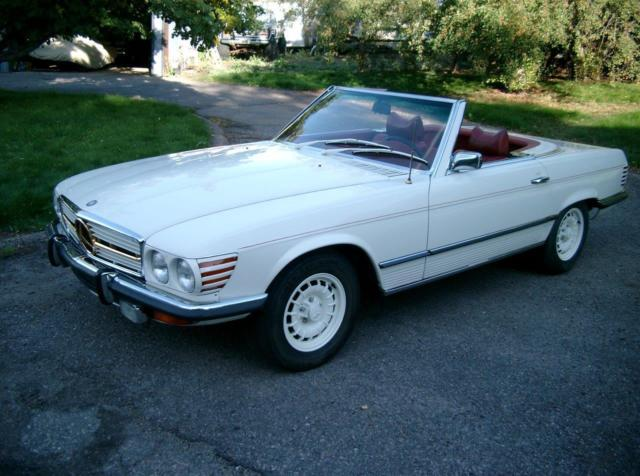 1972 Mercedes-Benz 300-Series 350SL - 4.5 liter M117 iron block V8 - 2 OWNER!