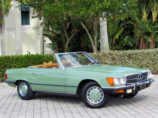1972 mercedes benz 350sl roadster convertible 72k miles 4 for Mercedes benz sl 350 price