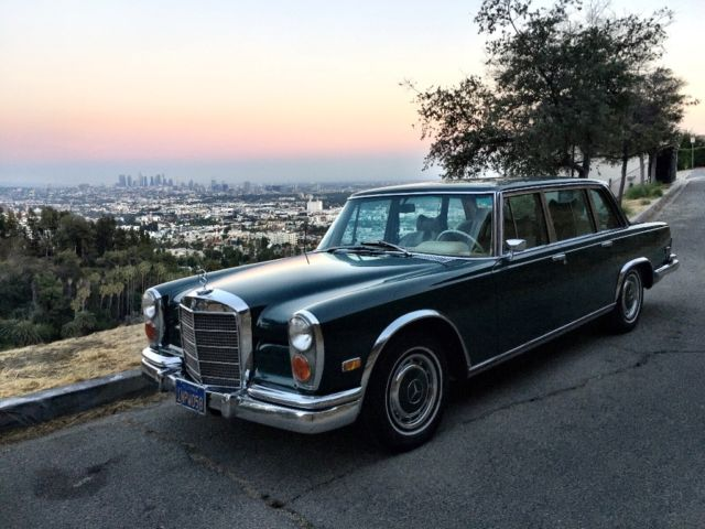 1972 mercedes benz 600 grosser extremely rare very original car for sale photos technical. Black Bedroom Furniture Sets. Home Design Ideas