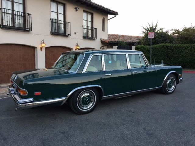 1972 mercedes benz 600 grosser extremely rare very for Mercedes benz 600 price