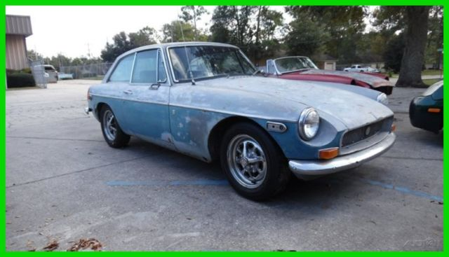 1972 MG MGB $99 NO RESERVE 1972 MGB GT COUPE