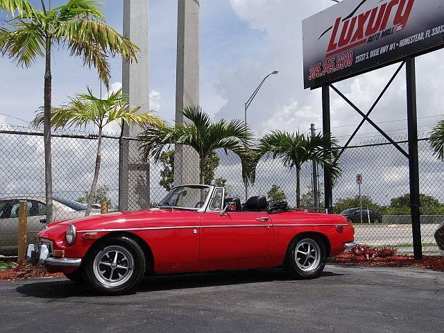 1972 MG MGB 1972 MG MGB CONVERTIBLE ROADSTER