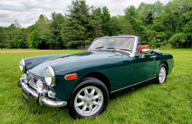 1972 MG Midget Roadster, 4-Speed