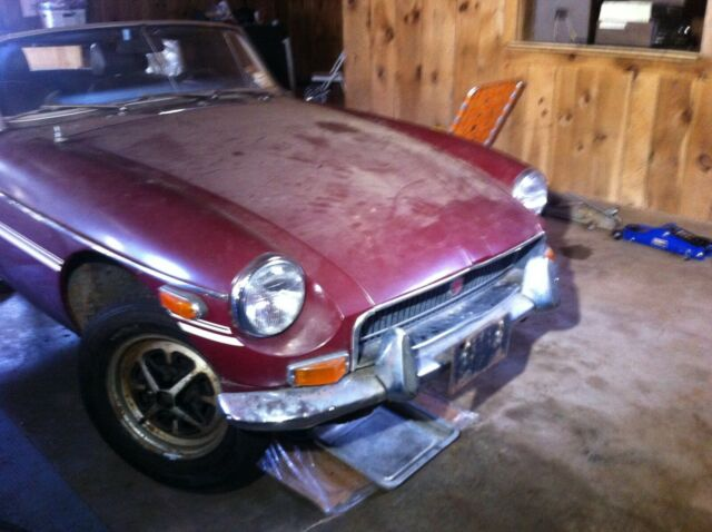 1972 MGB with under 52k miles - repairable / restorable