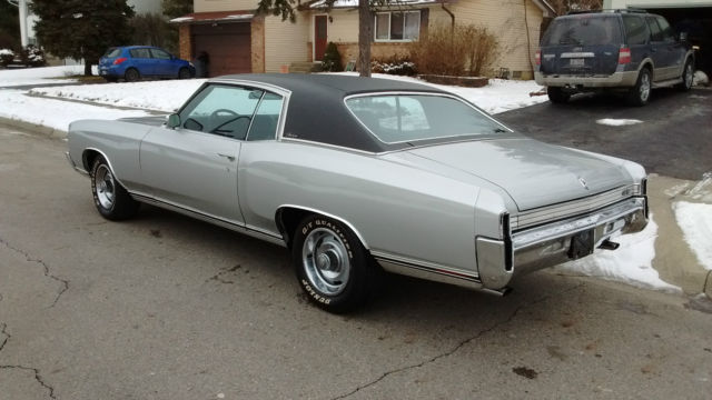 1972 Chevrolet Monte Carlo Base Hardtop 2-Door