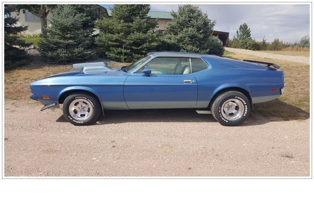 1972 Ford Mustang Olympic Sprint Edition