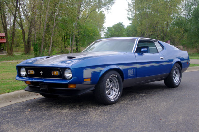 1972 Mustang Mach 1 Fast Back 351 Cleveland - Factory Ram Air ...