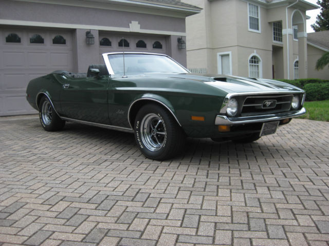 1972 Ford Mustang Q Code