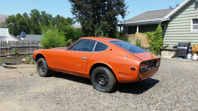 1972 nissan 240z rolling project for sale photos technical