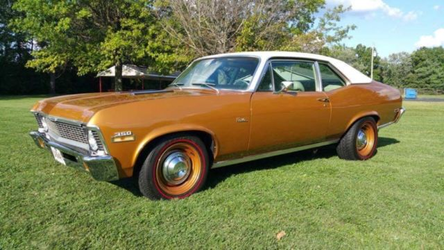 1972 Chevrolet Nova power tour