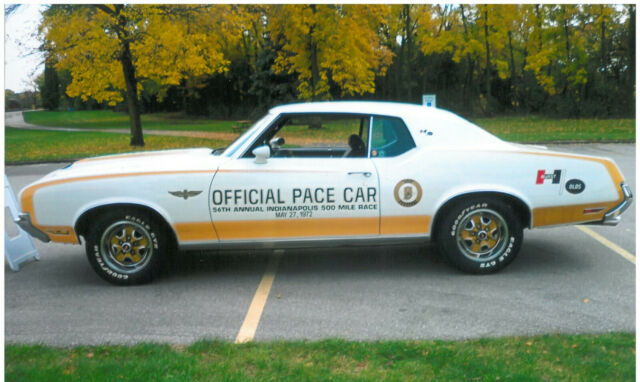 1972 Oldsmobile Cutlass Supreme W45 Pace Car