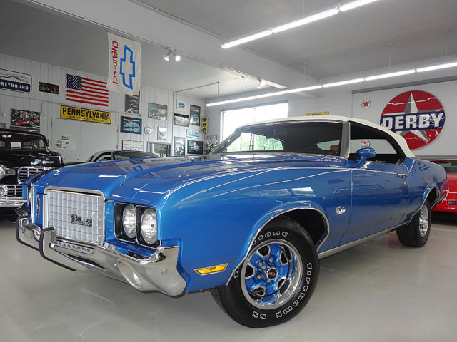 1972 Oldsmobile Cutlass All Pwr Opts