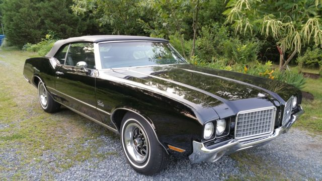 1972 Oldsmobile Cutlass Cutlass Supreme