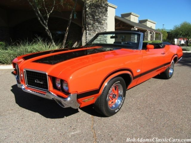 1972 Oldsmobile Cutlass 2dr Convertible