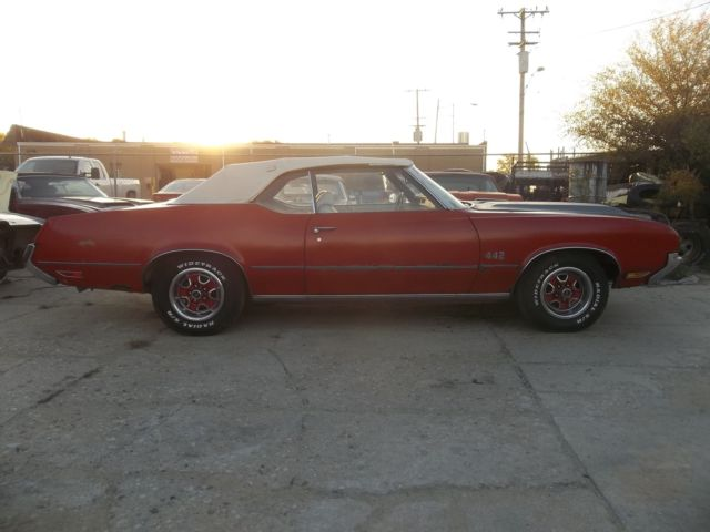1972 Oldsmobile Cutlass /442 Convertible