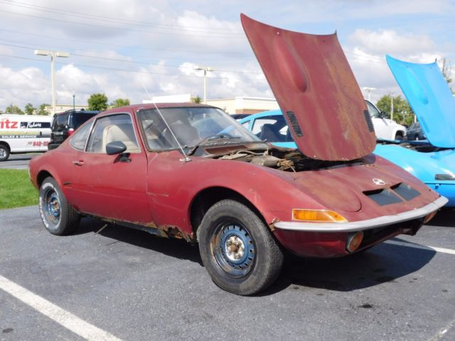 1972 opel gt with parts car buy one get one free for sale photos technical specifications. Black Bedroom Furniture Sets. Home Design Ideas