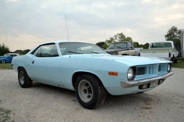 1972 Plymouth Barracuda Cuda
