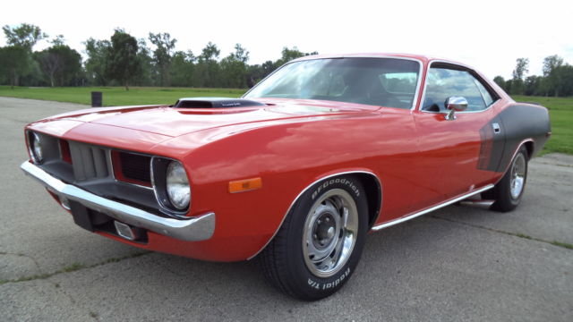 1972 Plymouth Barracuda Cuda 340