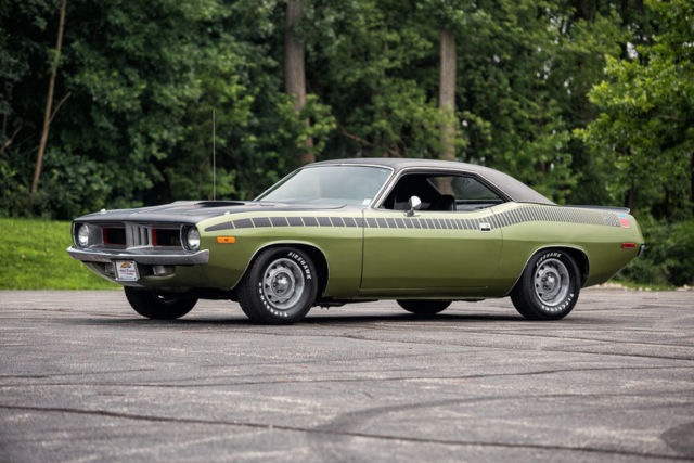 1972 Plymouth Barracuda AAR Clone