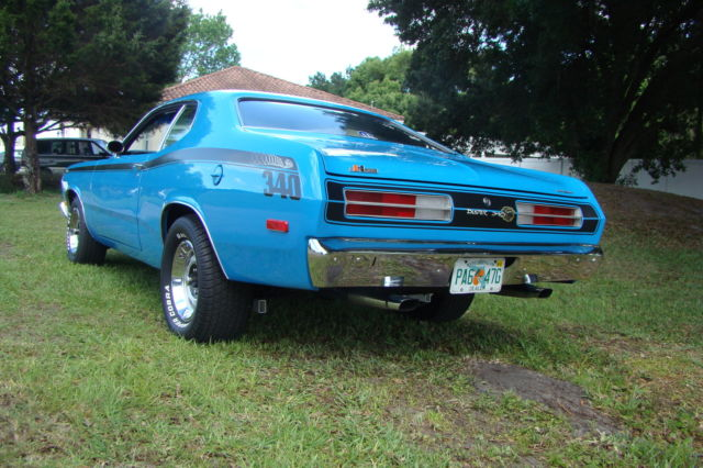 1972 plymouth duster 340 code h 4 speed hurst for sale photos technical specifications. Black Bedroom Furniture Sets. Home Design Ideas