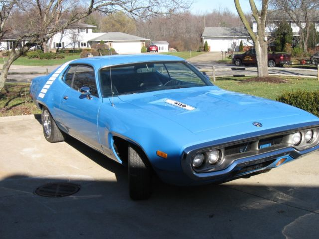 1972 Plymouth Road Runner Base