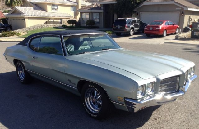 1972 Pontiac Lemans Gto T37 Barn Find Matching Numbers