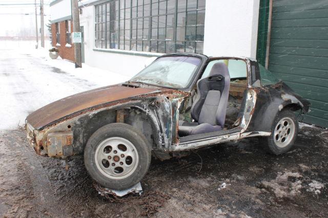 1972 Porsche 911t Targa Body Only Parts Car For Sale