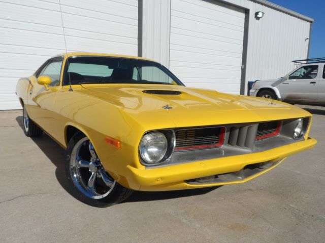 1972 Plymouth Barracuda REAL DEAL BS CODED CUDA