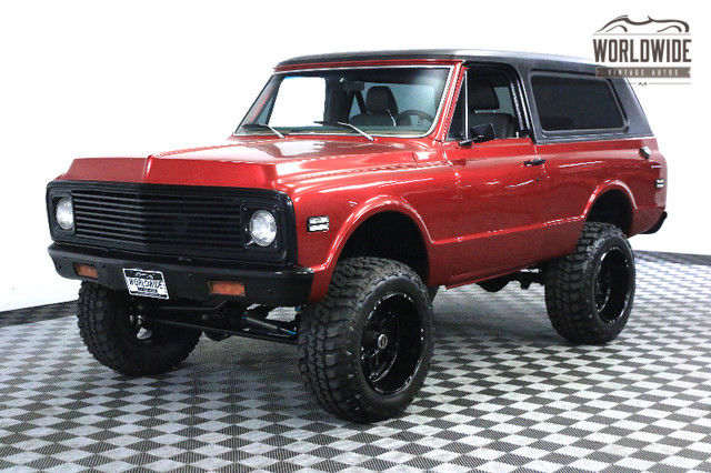 1972 Chevrolet Blazer KING OFF-ROAD SUSPENSION FUEL INJECTED A/C