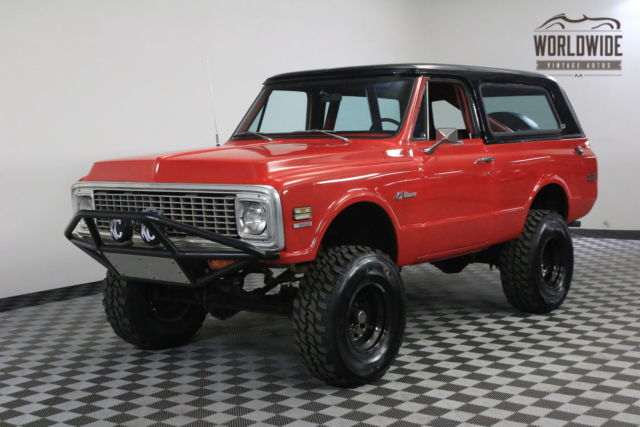 1972 Chevrolet Blazer RARE FIRST GENERATION FULL CONVERTIBLE 4X4