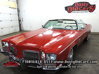 1972 Oldsmobile Eighty-Eight Runs Drives Body Excel No Rust Inter Good 455V8