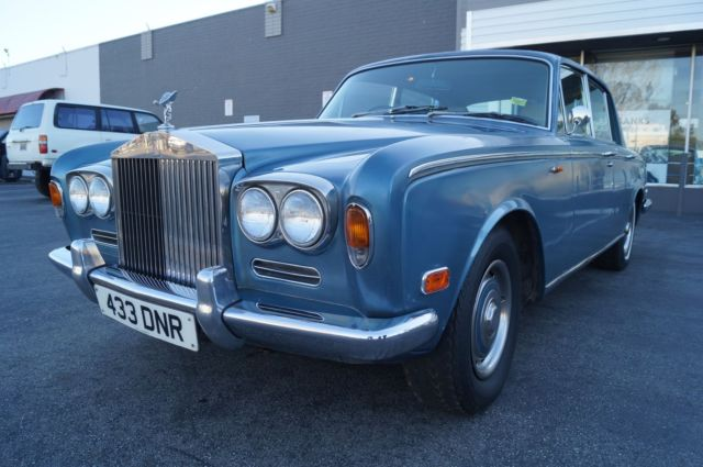 1972 Rolls-Royce Silver Shadow RUNNING CAR NEEDING RESTORATION - MAKE OFFER