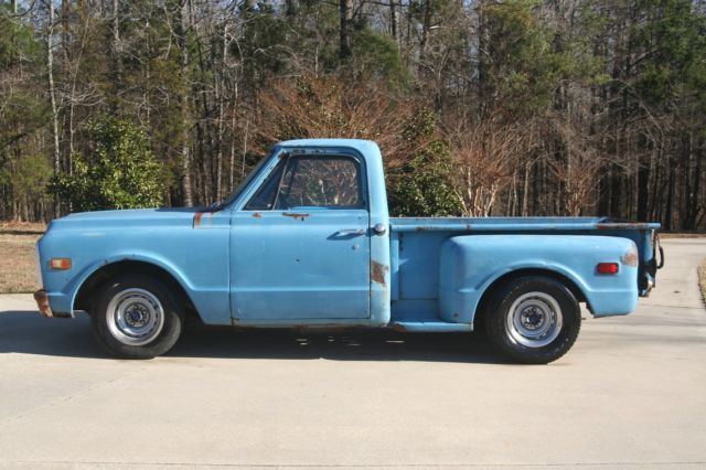 1972 Chevrolet C-10 SHORT BED