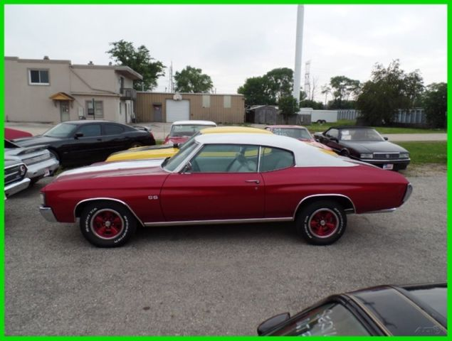 1972 Chevrolet Chevelle SUPER CLEAN RUST FREE-GREAT COLOR COMBO