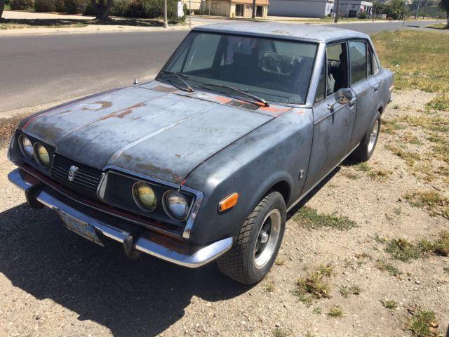 1972 Toyota Corona Mark II 2.0L SR20DE swap custom TEQ ...