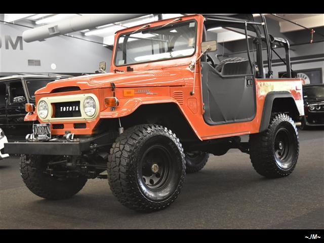 1972 Toyota FJ Cruiser TOYOTA FJ40 LAND CRUISER FJ 40 LIFTED V6 4X4 CLEAN