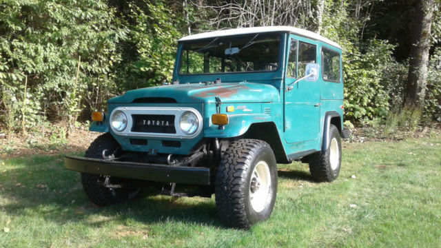 1972 Toyota Land Cruiser FJ40 Land Cruiser Survivor Paint & Interior!